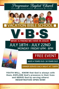 Copy of Vacation Bible School